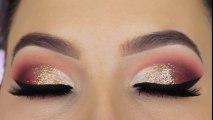 Glitter Glam   Eye Makeup Tutorial   Best Eye Makeup