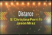 Christina Perri ft Jason Mraz Distance Karaoke Version