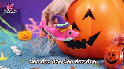 Pirate Baby Shark and more _ Best Halloween Songs _  Compilation _ Pink