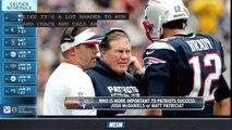 Josh McDaniels Is More Important To Patriots Than Matt Patricia