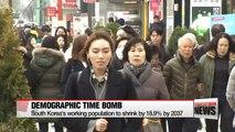 Korea's working population shrinking fast