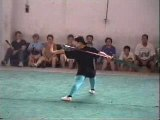 Hwang Yi performing horse cutter