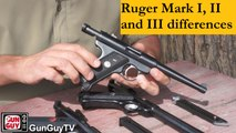 Ruger Mark I vs Mark II vs Mark III.  What are the differences?