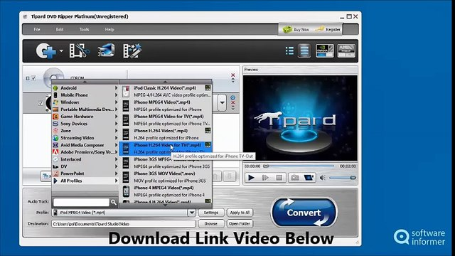 Tipard DVD Ripper 9 1 + Full Version [Mac OS X]