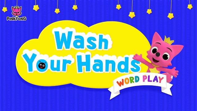 Wash Your Hands _ Healthy Habits _ Word Pla