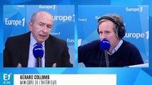 """Champigny : Gérard Collomb dénonce """"des actes sauvages totalement inadmissibles"""""""