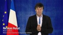 Nicolas Hulot vous présente ses voeux 2018
