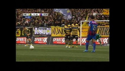 YB-FCB am 29. 11. 2009 (1. Halbzeit)