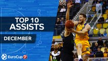 7DAYS EuroCup, Top 10 Assists, December