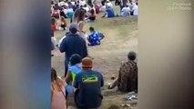 Topless à un festival, elle se fait peloter par un mec