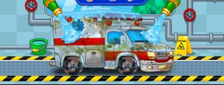 Araba Yikama Ve Boyama Oyunu Kmayon Itfaiye Ambulans Egitici Ve