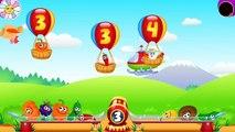Öğretici Oyun Sayı saymayı Öğrenme eğlenceli çocuk videolari karışık balonlar süpriz