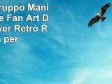 Ufficiale One Direction Foto Gruppo Maniche Lunghe Fan Art Designs Cover Retro Rigida per