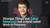 Gaten Matarazzo's Band Plays A Pretty Sweet Paramore Cover