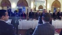 Dışişleri Bakanı Çavuşoğlu, gazete ve televizyonların Ankara temsilcileri ile bir araya geldi - ANKARA