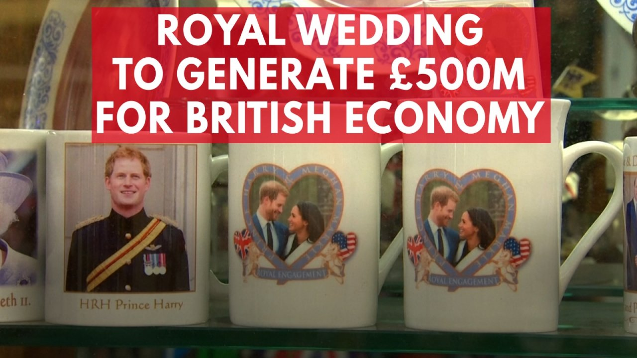 Prince Harry and Meghan Markle wedding to generate £500m for British economy