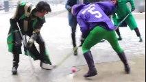 Superhero Hockey - Cosplay Cup Hockey Edition | Superheroes | Spiderman | Superman | Frozen Elsa | Joker