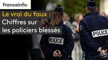 """Policiers blessés : non, 18 700 policiers et gendarmes n'ont pas été blessés """"en mission"""""""