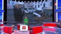 Tempête Eleanor : plus de 140 interventions des sapeurs-pompiers dans les Alpes-Maritimes