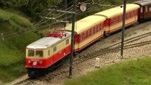 Réseau ferroviare de l'Autriche avec des trains miniatures en échelle H0 - Une vidéo de Pilentum Télévision sur le modélisme ferroviaire avec des trains miniatures