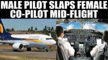 Jet Airways pilot slaps female co-pilot mid flight, both grounded | Oneindia News
