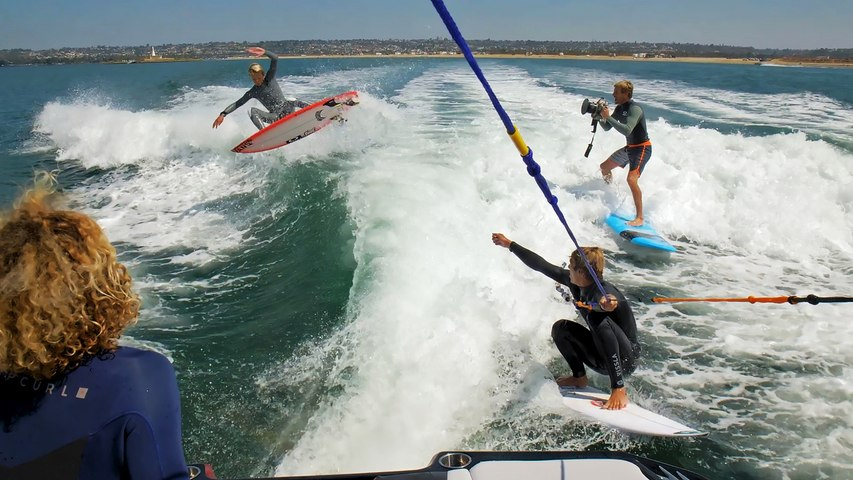 The Wake-Surf Challenge