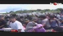 Eksekusi Ratusan Rumah Warga di Denpasar Berakhir Ricuh