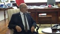 Saadet Partisi Genel Başkanı Karamollaoğlu'nun CHP ziyareti (2) - ANKARA