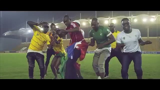 Wizboyy,Molare, Toofan, Eddy Kenzo, Singuila, Arielle T – Hola Hola AFCON 2015 theme song