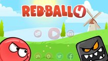 RED BALL 4: Black Ball Adventure through chapters 3 and 4 with Boss fights
