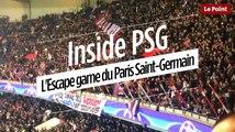 Inside PSG : l'Escape game du Paris Saint-Germain