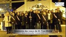 Cérémonie des voeux de M. Yves Michel, Maire de Marseillan du 2 janvier 2018