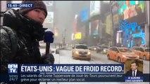 Il fait froid, très froid dans les rues de New-York