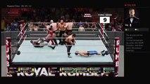 WWE 2K18 NJPW Wrestle Kingdom 12 Gauntlet match NEVER Openweight 6-Man Tag Team Titles
