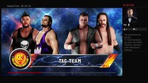 WWE 2K18 NJPW Wrestle Kingdom 12 Tag Team Titles Los Ingobernables de Japon Vs Killer Elite Squad