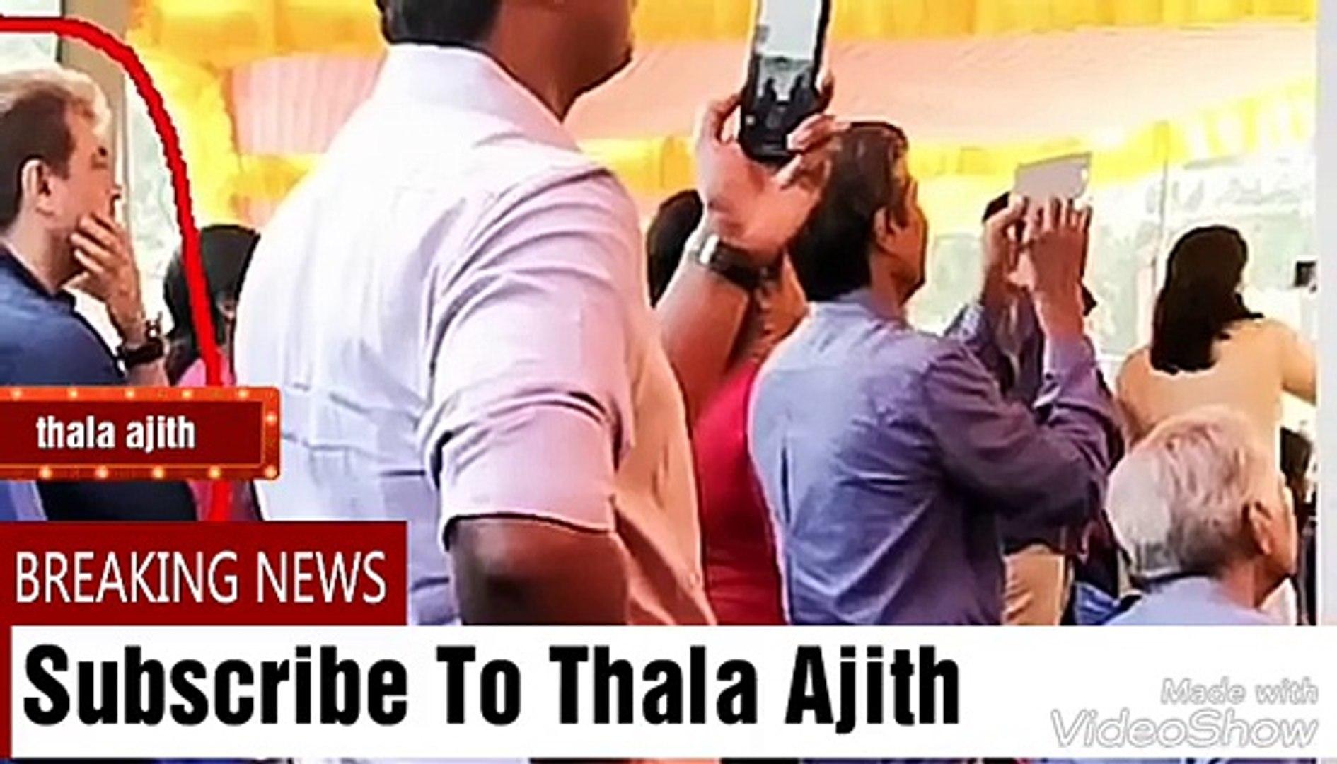 ajith hair style