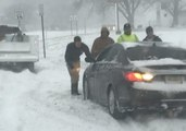 Blizzard Generates High Winds, Heavy Snow on the Jersey Shore