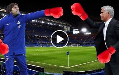 Jose Mourinho vs. Antonio Conte. The battle continues...