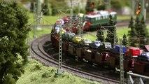 Model Train Paradise - Famous Model Railroad Layout built by Bernhard Stein in HO Scale