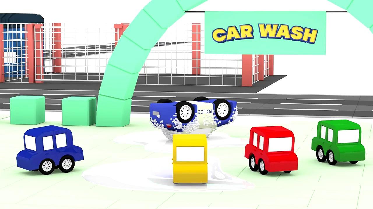 Cartoon Cars – GOLD CRIMINAL CAR! – Cars