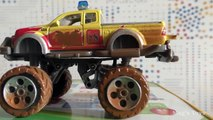 Car Push Battle - Toy Cars Pushing Each Other from the