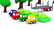 Cartoon Cars - FASTEST Wood Chopper - Children's Cartoons - Childrens A