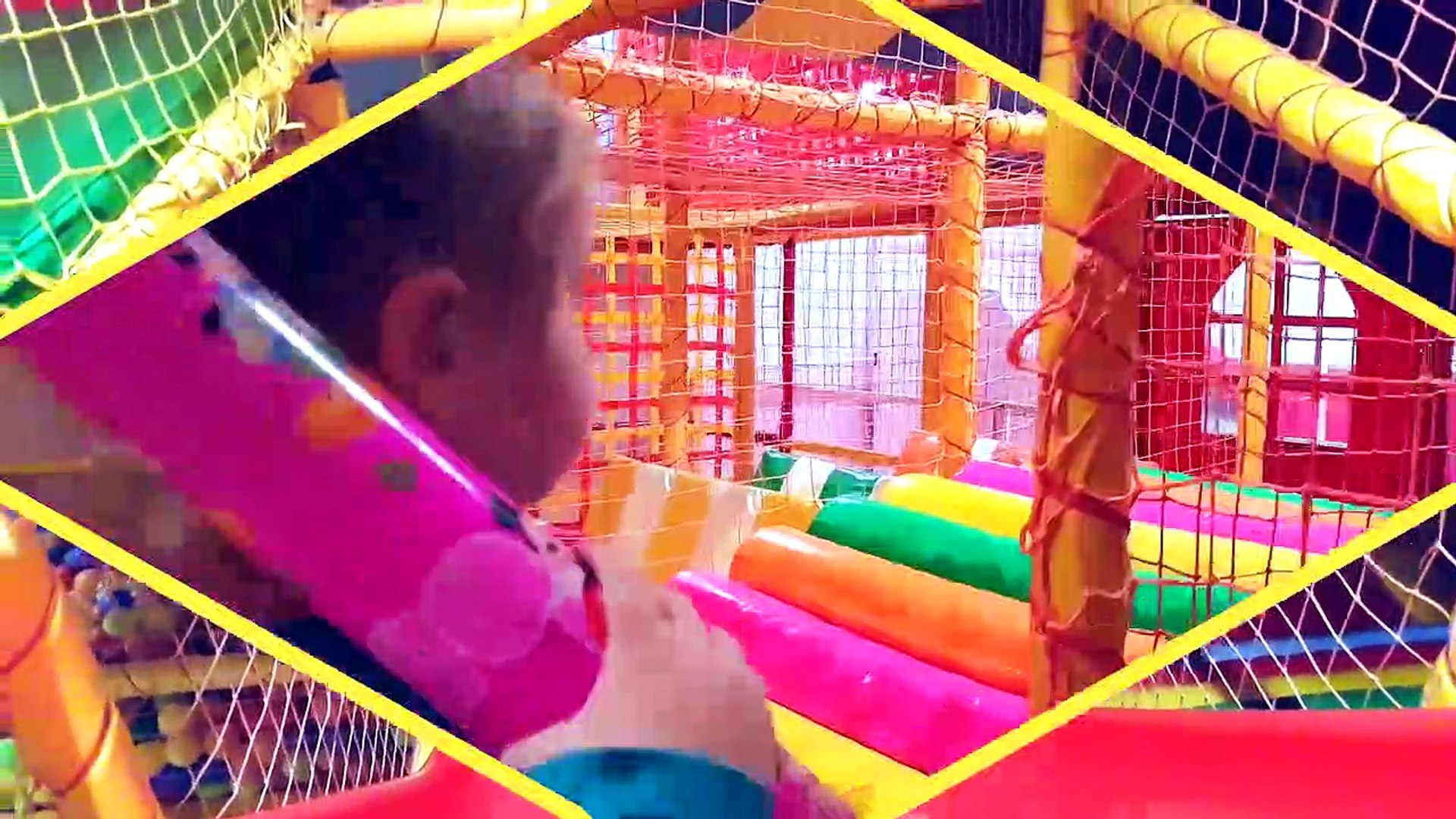 Indoor Playground Family Fun Play Entertainments for kids Trampoline Funny videos 2017  fo