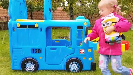 Wheels On The Bus Tayo Little Bus Nursery Rhymes Songs for Kids Toddlers Bab