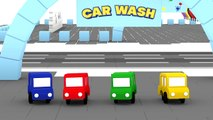 Cartoon Cars - CAR WASH PAINTBALL - Cars Cartoons for Children - Childrens Animation Videos for ki