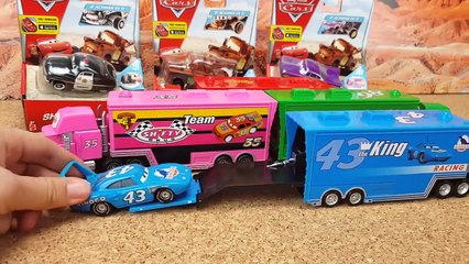 Disney Pixar Cars3 Toys Lightning McQueen Mack Truck for kids Many cars