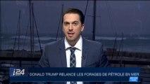 Donald Trump relance les forages de pétrole en mer