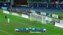 قناة الكاس : فضيحة تحكيمية في مباراة العراق والامارات \ نصف نهائي كاس الخليج