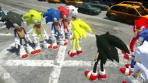 SONIC THE HEDGEHOG COLORS VS SONIC THE HEDGEHOG BOOM COLORS - EPIC BATTLE SONIC THE HEDGEHOG