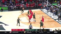 College basketball. Michigan State Spartans - Maryland Terrapins 04.01.18 (Part 1)